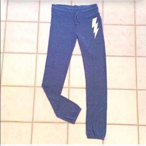 🔷BOGO🔷🆕 Wildfox lightning bolt joggers sweats